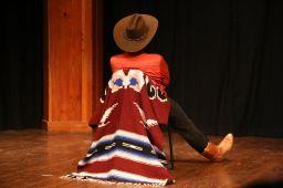 A lonesome cowboy...